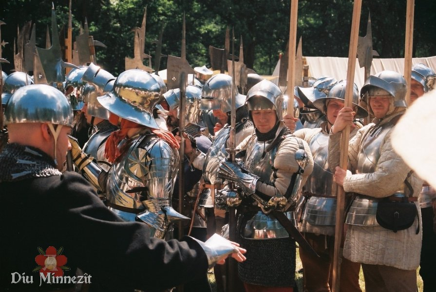 Harnischparade